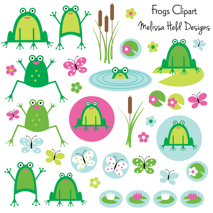 Frogs Clipart Cliparts Melissa Held Designs    Mygrafico