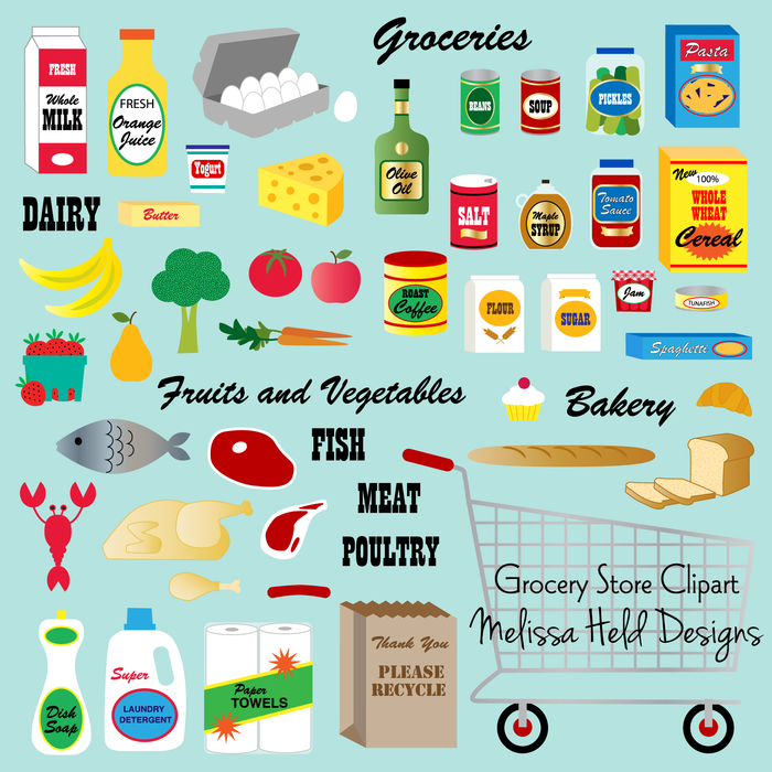 Grocery Store Clipart Cliparts Melissa Held Designs    Mygrafico