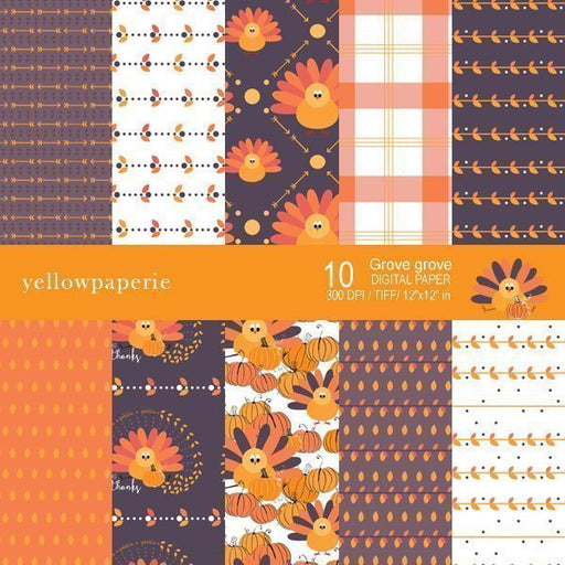 Grove Grove Collection  Yellowpaperie    Mygrafico