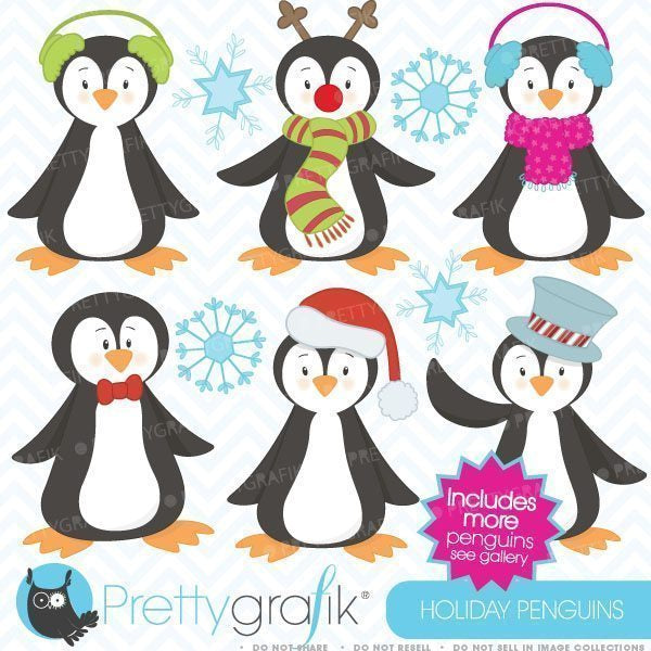 Holiday penguins  Prettygrafik    Mygrafico