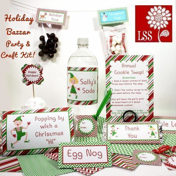 Holiday Bazzar Craft Kit SVG Cutting Templates Lindsay's Stamp Stuff    Mygrafico
