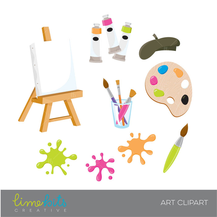Art Clipart, Pink  Lime Bits Creative    Mygrafico