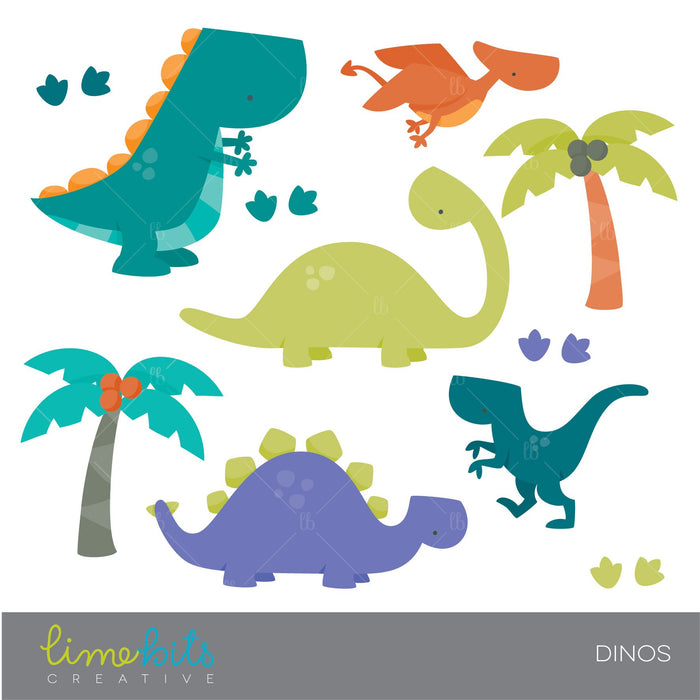 Cute Colorful Dinosaur Clipart Clipart Lime Bits Creative    Mygrafico
