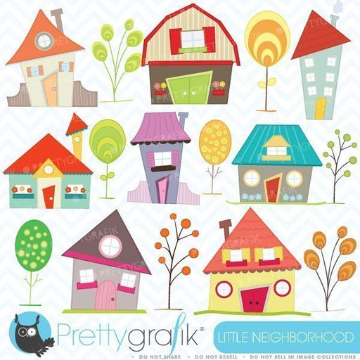 Little neighborhood  Prettygrafik    Mygrafico