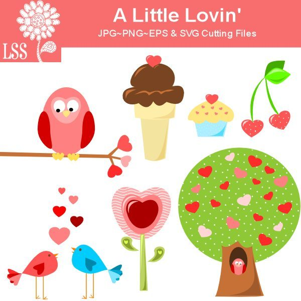 A little loving Valentine SVG and Clipart SVG Cutting Templates Lindsay's Stamp Stuff    Mygrafico