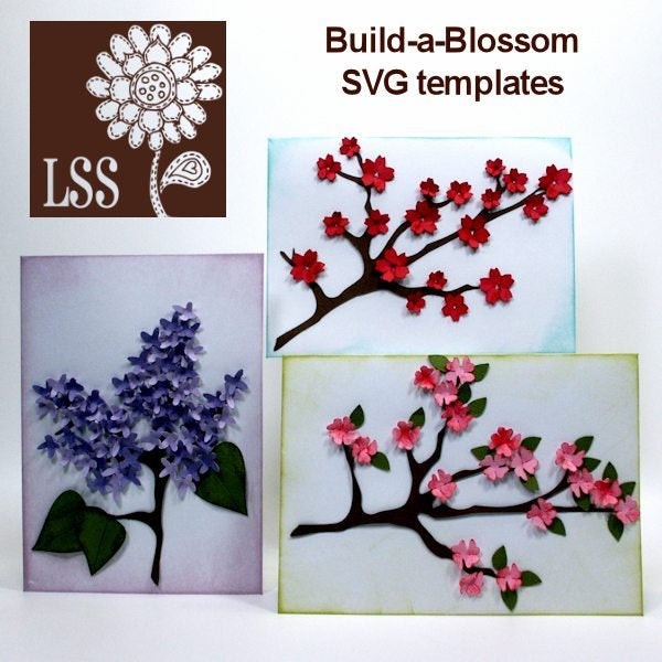 Build A Blossom SVG SVG Cutting Templates Lindsay's Stamp Stuff    Mygrafico