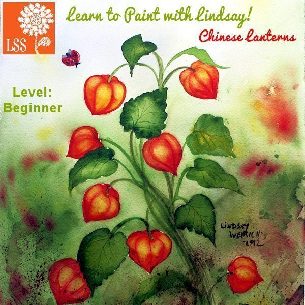 Learn To Paint Chinese Lanterns Tutorial Lindsay's Stamp Stuff    Mygrafico