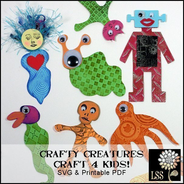 Crafty Creature SVG SVG Cutting Templates Lindsay's Stamp Stuff    Mygrafico