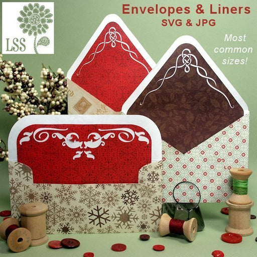 Envelopes & Liners SVG Cutting Templates Lindsay's Stamp Stuff    Mygrafico