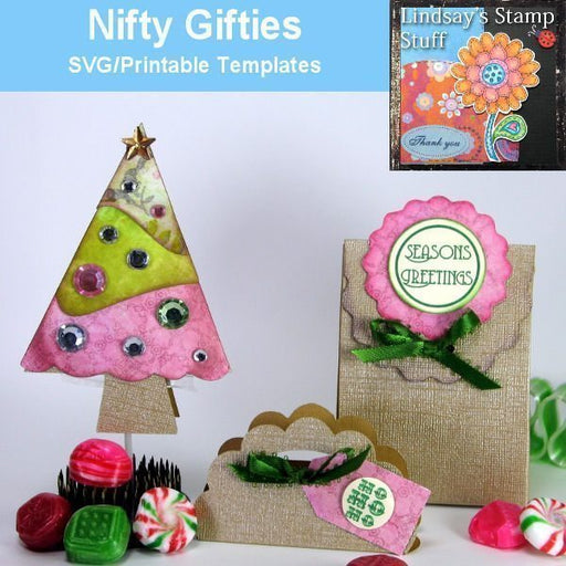 Nifty Gifties SVG SVG Cutting Templates Lindsay's Stamp Stuff    Mygrafico