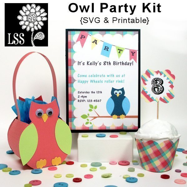 Owl Party!  Lindsay's Stamp Stuff    Mygrafico
