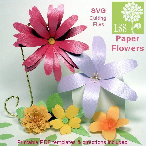 Paper flower svg mygrafico paper flower svg svg cutting templates lindsays stamp stuff mygrafico mightylinksfo
