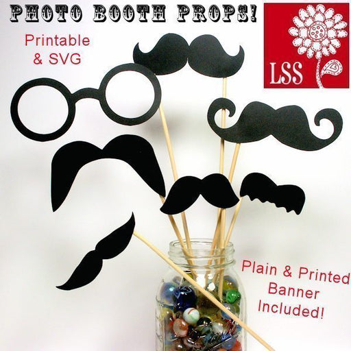 Photo Booth Props! SVG Cutting Templates Lindsay's Stamp Stuff    Mygrafico