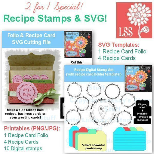 Recipe Stamps & SVG Special!