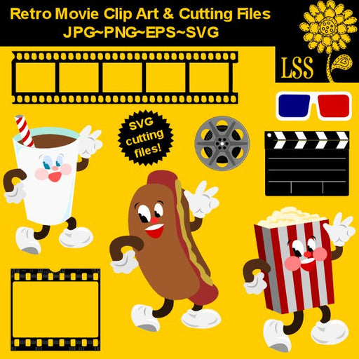 REtro Movie Clips & Cutting  Lindsay's Stamp Stuff    Mygrafico
