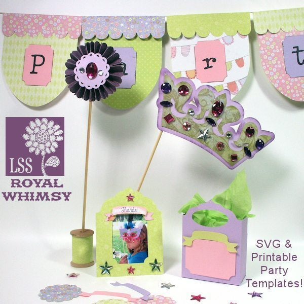 Royal Whimsy Party SVG  Lindsay's Stamp Stuff    Mygrafico