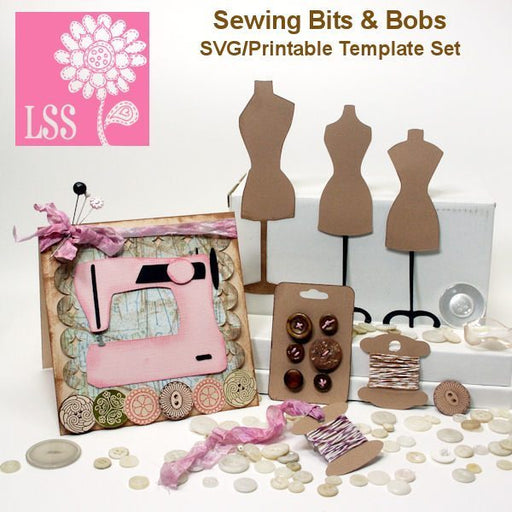 Sewing Bits SVG  Lindsay's Stamp Stuff    Mygrafico