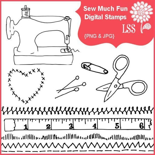 Sew Much Fun Stamps  Lindsay's Stamp Stuff    Mygrafico