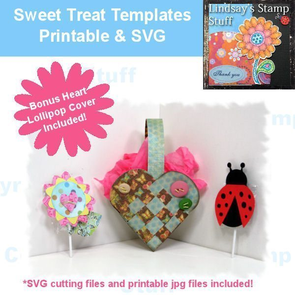 Sweet Treat Valentine SVG cutting files  Lindsay's Stamp Stuff    Mygrafico