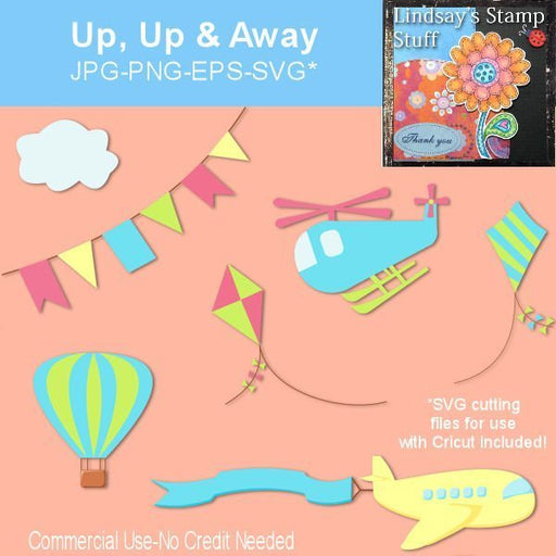 Up, Up & Away  Lindsay's Stamp Stuff    Mygrafico