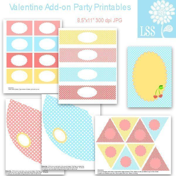 Valentine Party Add-on Printable  Lindsay's Stamp Stuff    Mygrafico