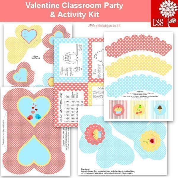 Valentine Party Printables & SVG SVG Cutting Templates Lindsay's Stamp Stuff    Mygrafico