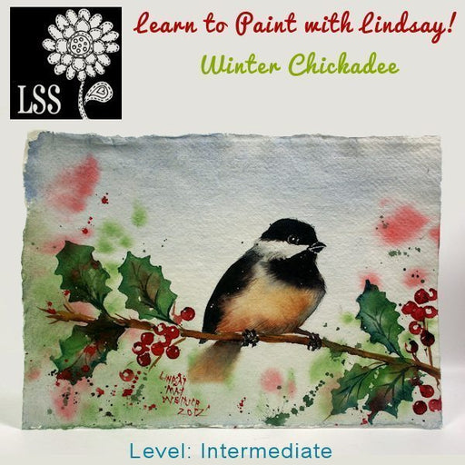 Learn To Paint: Winter Chickadee Tutorial Lindsay's Stamp Stuff    Mygrafico