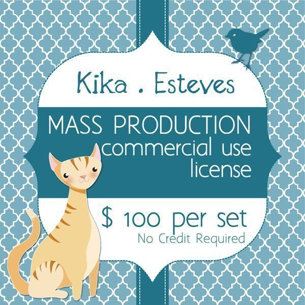 Kika Esteves Mass Production License  Kika Digital    Mygrafico