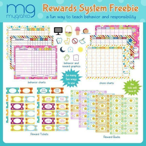 Mygrafico Rewards System Freebie Printable Templates Mygrafico Collaborations    Mygrafico