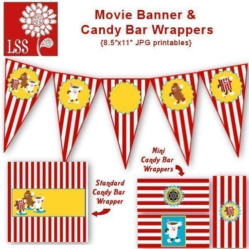 Movie Banner & Wrappers! SVG Cutting Templates Lindsay's Stamp Stuff    Mygrafico