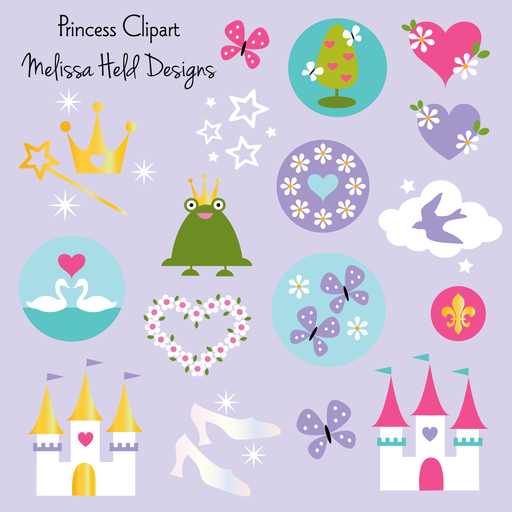 Princess clipart Clipart Melissa Held Designs    Mygrafico