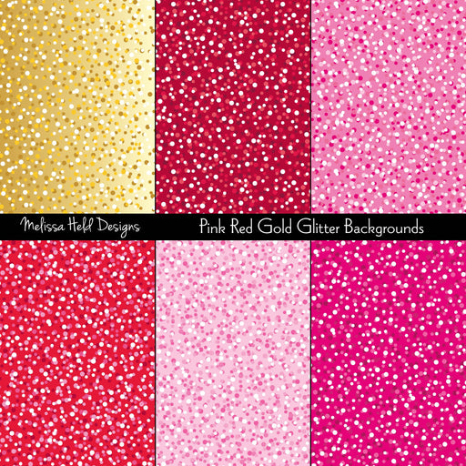 Pink, Red, and Gold Glitter Backgrounds Cliparts Melissa Held Designs    Mygrafico