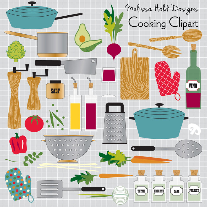 Cooking Clipart Cliparts Melissa Held Designs    Mygrafico
