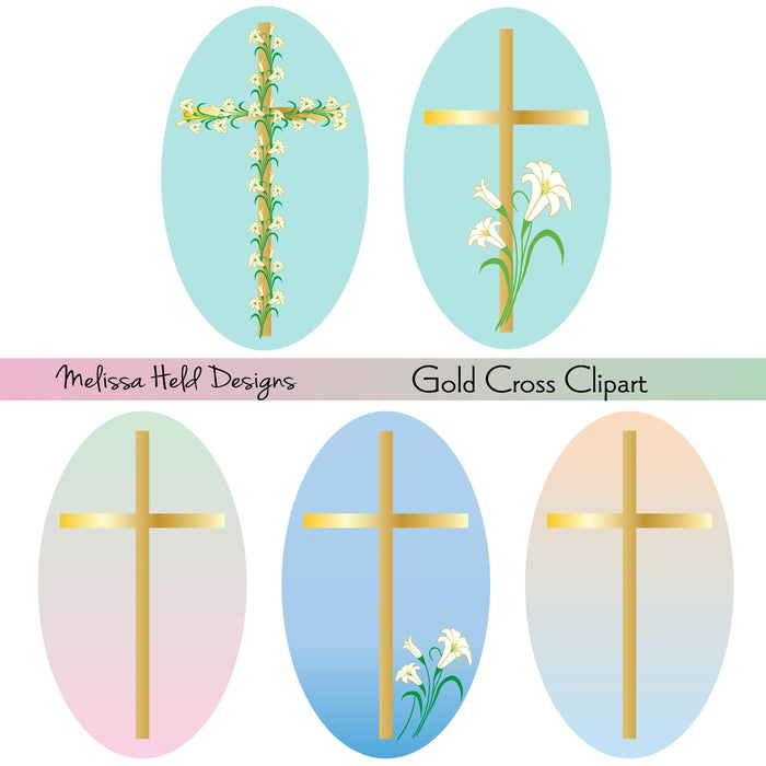 Gold Cross Clipart Cliparts Melissa Held Designs    Mygrafico