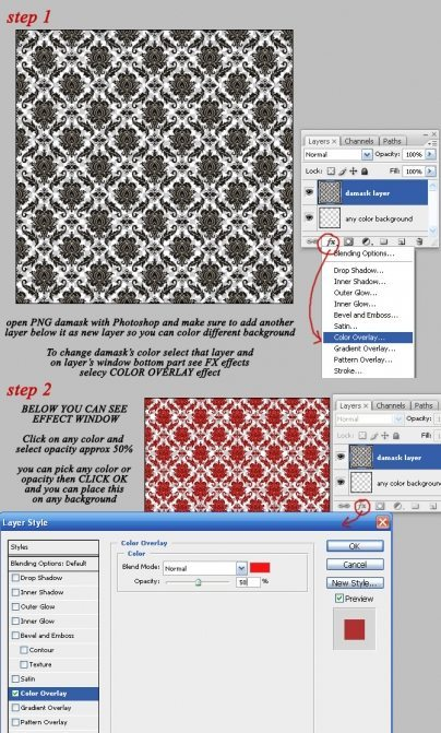 Whimsical Damask Overlays  Mujka Chic    Mygrafico