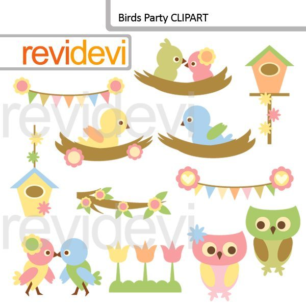 Birds Party Cliparts  Revidevi    Mygrafico
