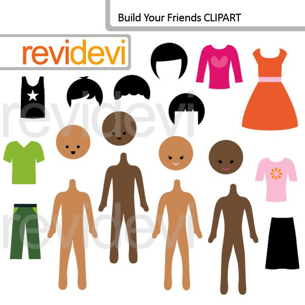 Build your friends clip art  Revidevi    Mygrafico