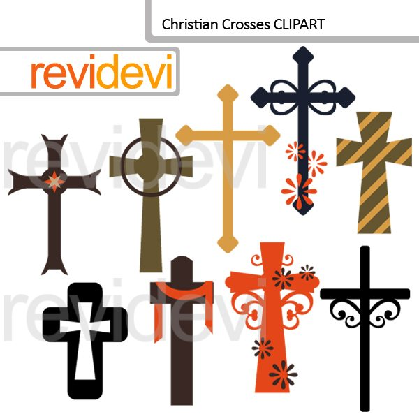 Christian crosses clipart  Revidevi    Mygrafico