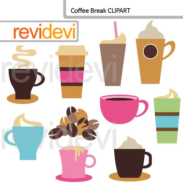 Coffee Break clip art  Revidevi    Mygrafico