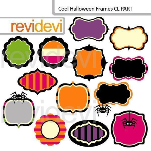 Cool Halloween Frames Clipart  Revidevi    Mygrafico