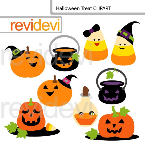 Halloween Treat clip art