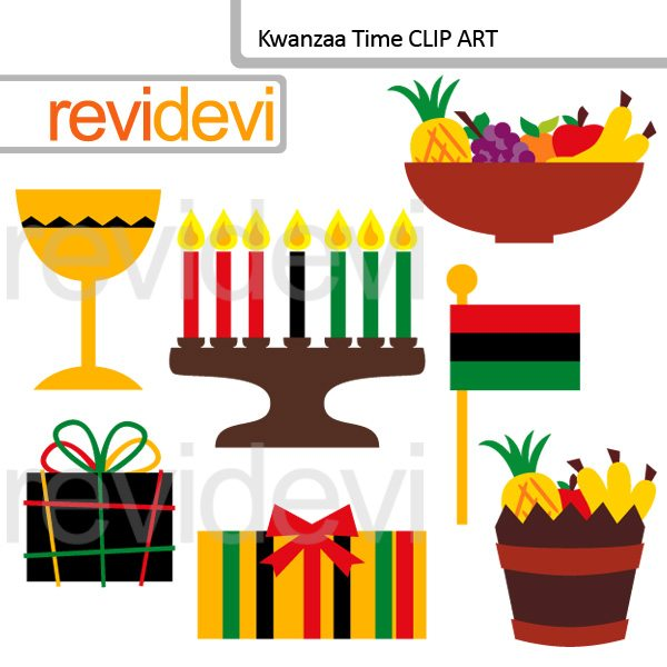Kwanzaa Time clip art  Revidevi    Mygrafico