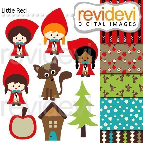 Little Red Clipart  Revidevi    Mygrafico