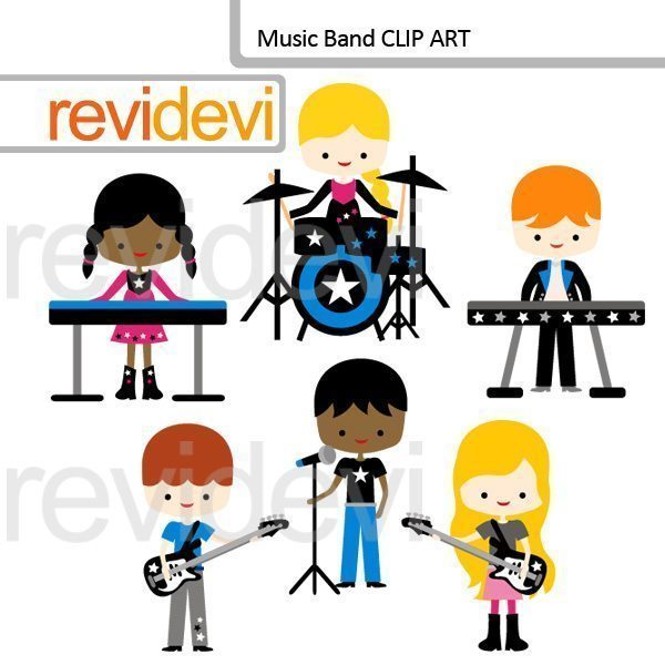 Music Band clipart  Revidevi    Mygrafico