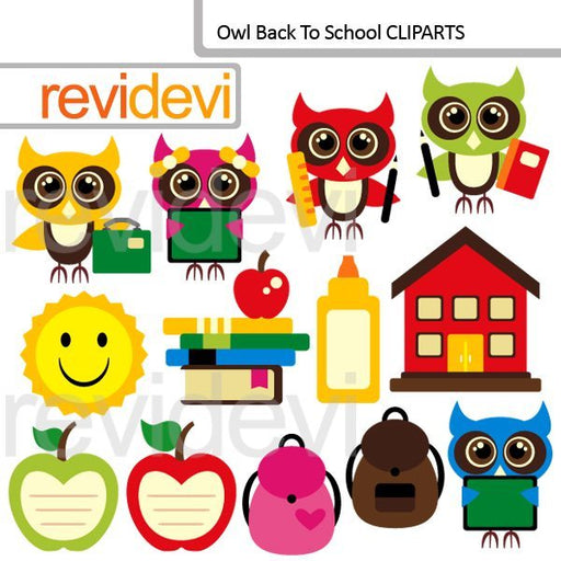 Owl Back To School Cliparts  Revidevi    Mygrafico