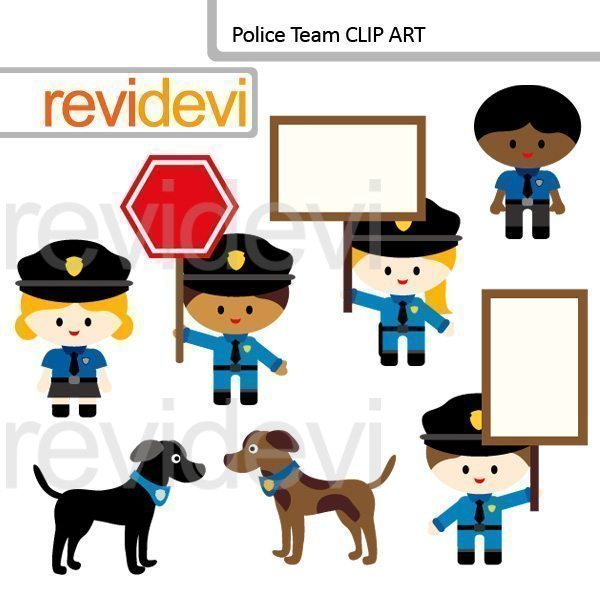 Police Team clipart  Revidevi    Mygrafico