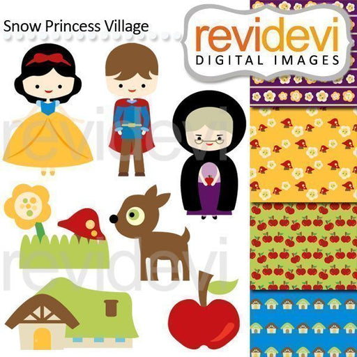 Snow Princess Village Cliparts  Revidevi    Mygrafico