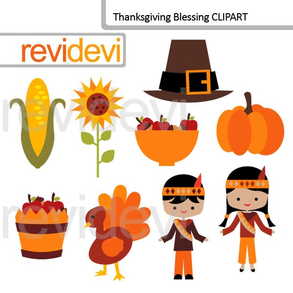 Thanksgiving Blessing clip art  Revidevi    Mygrafico