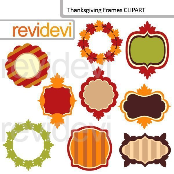 Thanksgiving Frames Cliparts  Revidevi    Mygrafico
