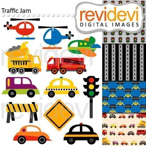 Traffic Jam Clipart  Revidevi    Mygrafico